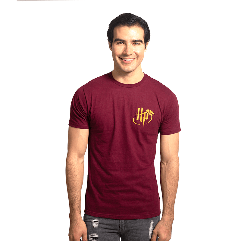 Playera Caballero Exclusiva Vino Hp Quidditch - Epicland  (4613888671857)