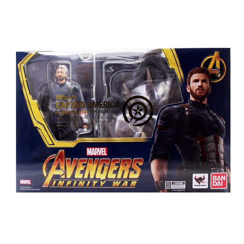 Capitán América and Explosion (Infinity War) - Epicland