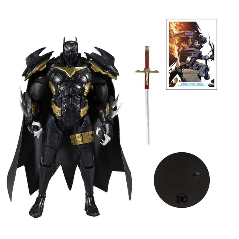 "Dc Multiverse 7"" Action Figures - Wv3 - White Knight - Azbat - Epicland  (4635527217265)"