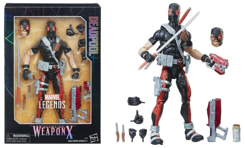 Figura Coleccionable Deadpool Weapon X Marvel Legends - Epicland