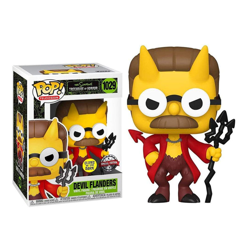 Exclusivo Funko Pop Animation: Simpsons- Devil Flanders (Gw) - Epicland  (4612408770673)