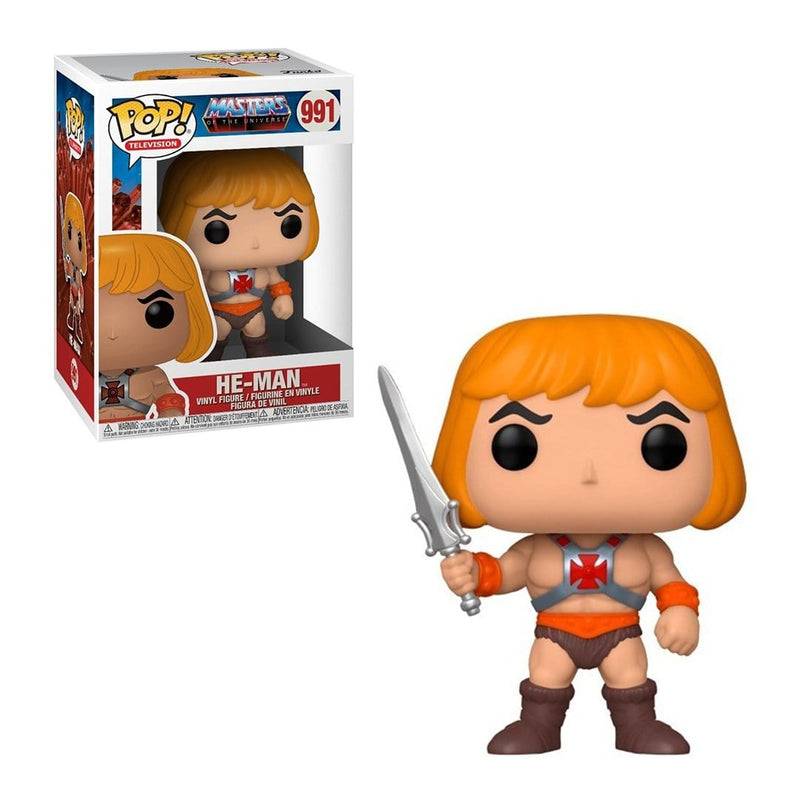 Funko Pop Animation: Master of the Universe - He-Man (4543343329393)