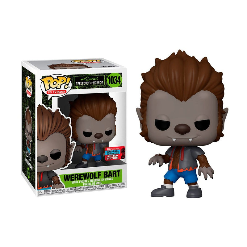 Funko Pop Animation: Simpsons- Wolfman Bart (4584866644081)