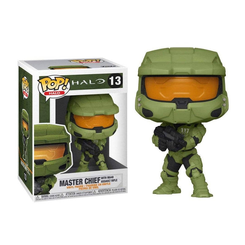 Funko Pop Games: Halo Infinite Master Chief W/Ma40 Assault Rifle - Epicland  (4592749674609) (4644078583921)