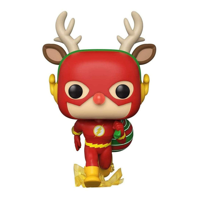 Funko Pop Heroes: Dc Holiday- Rudolph Flash - Epicland  (4624812441713)