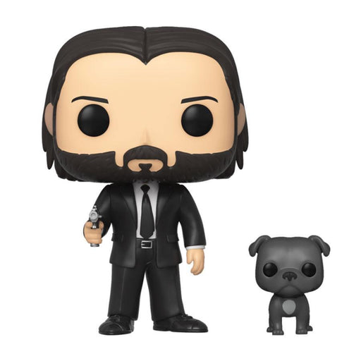 FUNKO POP : JOHN WICK- JOHN (BLACK SUIT) W/ DOG - Epicland