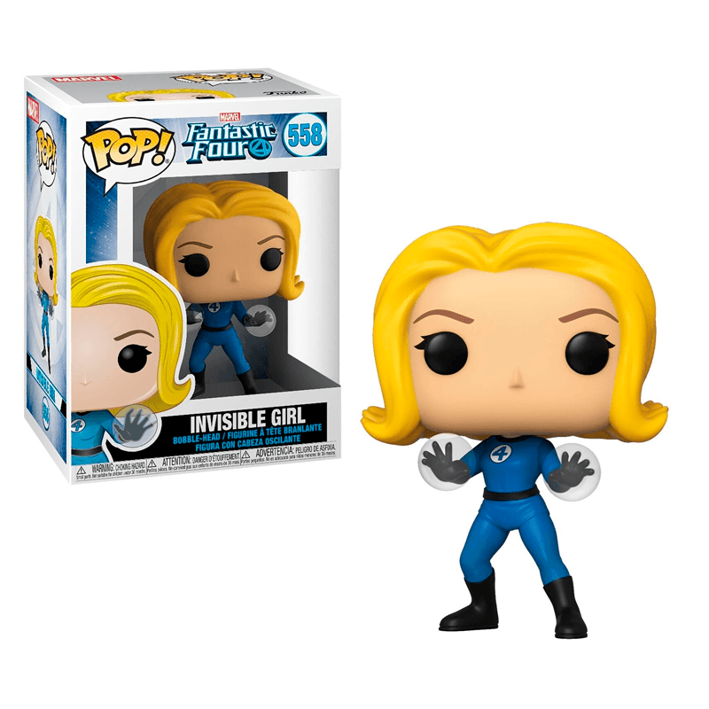 Funko Pop Marvel Fantastic Four Invisible Girl - Epicland  (4434110906481)