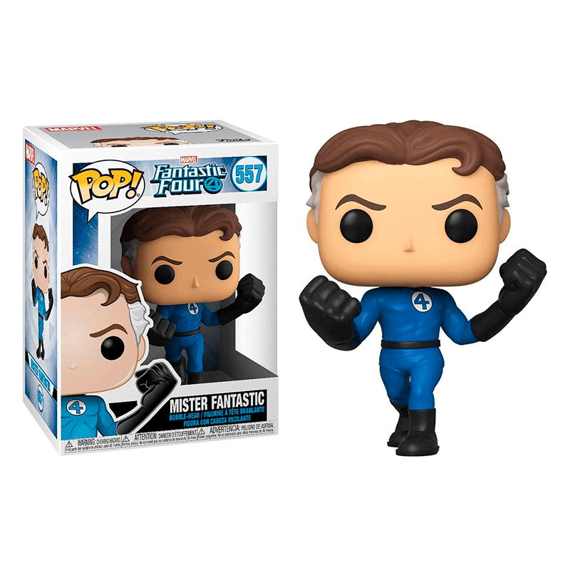 Funko Pop Marvel Fantastic Four Mister Fantastic - Epicland