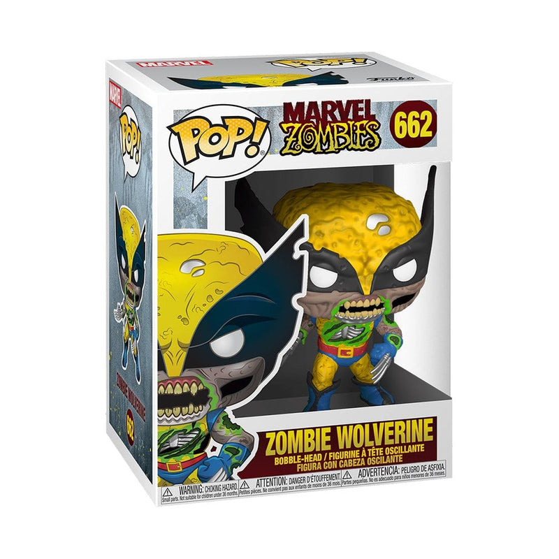 Funko Pop Marvel: Marvel Zombies Wolverine - Epicland  (4592749117553)