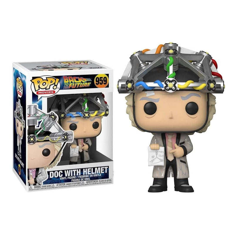 Funko Pop Movies: Bttf - Doc W/ Helmet - Epicland  (4617188573297)