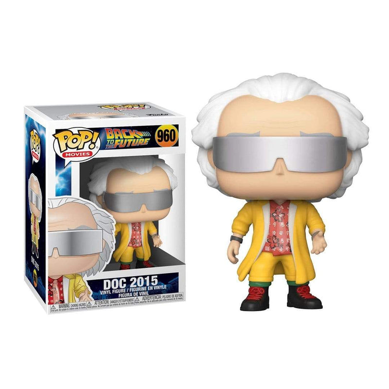Funko Pop Movies: Bttf - Doc 2015 - Epicland  (4612459004017)