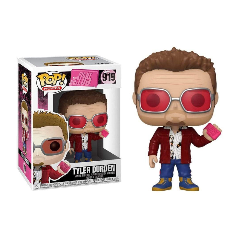 Funko Pop Movies: Fight Club - Tyler Durden W/ Chase And Buddy - Epicland  (4562284511345)