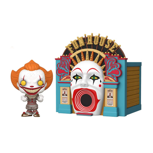 FUNKO POP MOVIES: IT 2- DEMONIC PENNYWISE W/ FUNHOUSE - Epicland