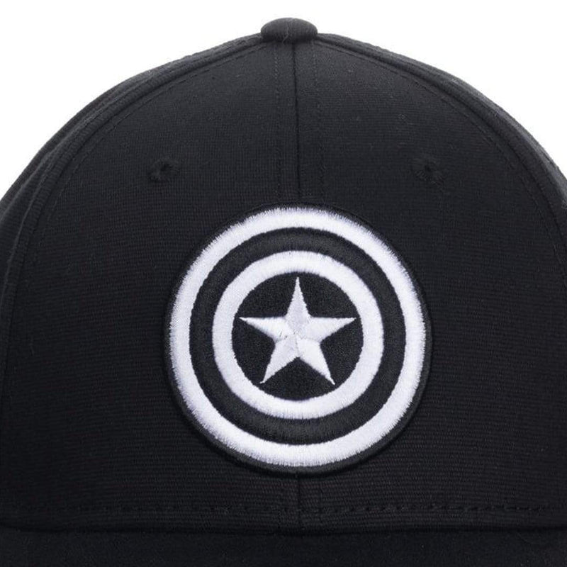 Gorra Capitan Marvel Bordado Simbolo Flex Fit Hat Curva - Epicland  (4593427054705)