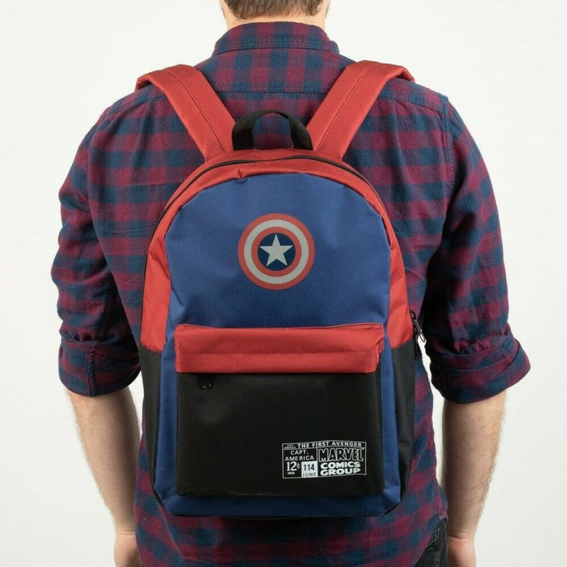 Mochila Marvel Color Block Print - Epicland  (4588406636657)