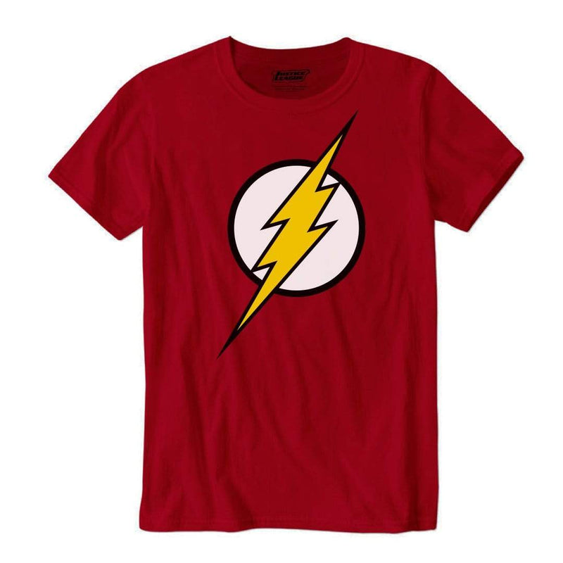 Playera Caballero Am Roja Logo Flash Amarillo - Epicland  (4613887656049)