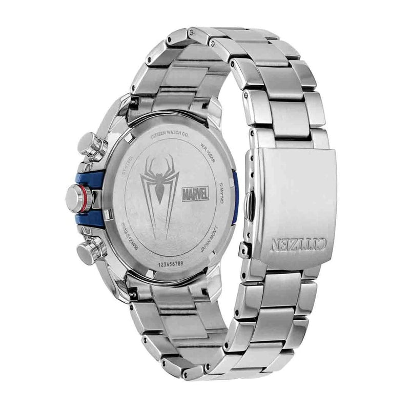 Reloj Citizen Eco Drive Azul y Plateado- Marvel - Spiderman (6562152972401)