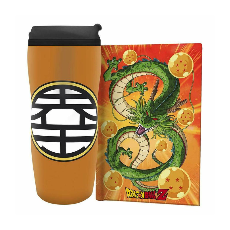 Set Dragon Ball Z - Termo + Journal Travel - Epicland