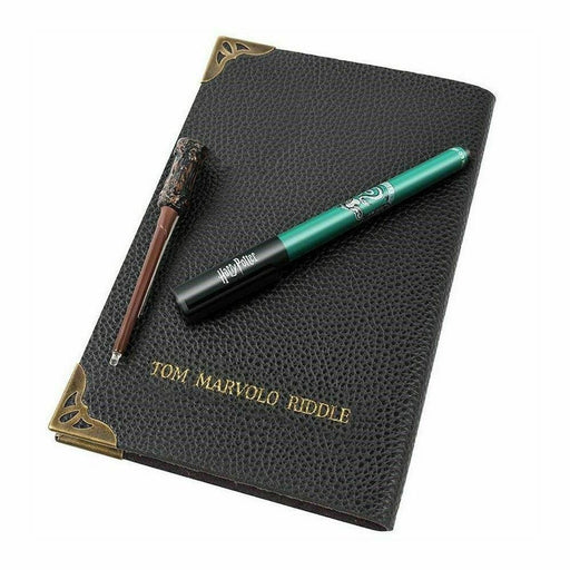 SET LIBRETA PLUMA Y VARITA TOM RIDDLE - Epicland