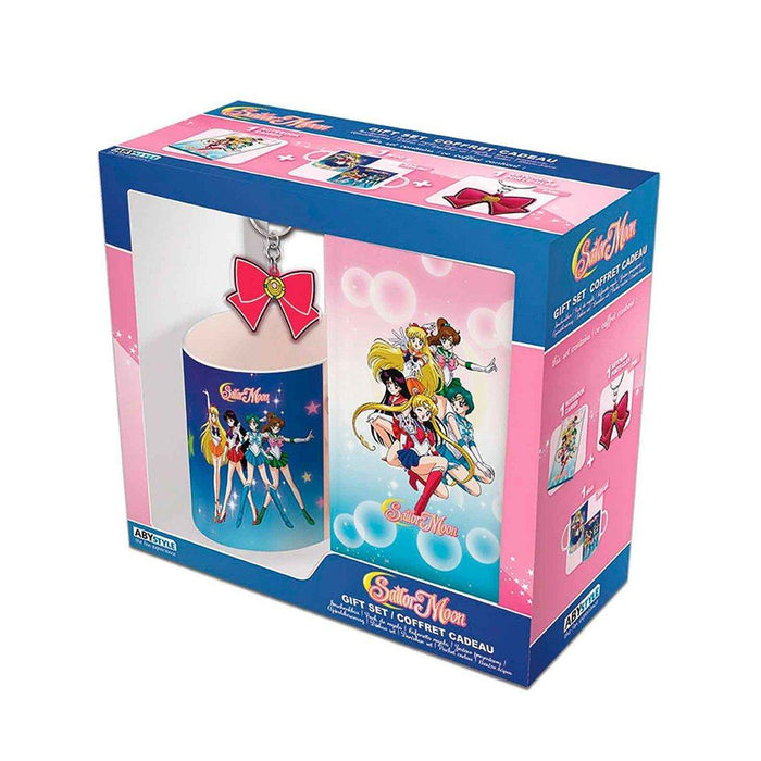 SET TAZA LIBRETA LLAVERO SAILOR MOON - Epicland
