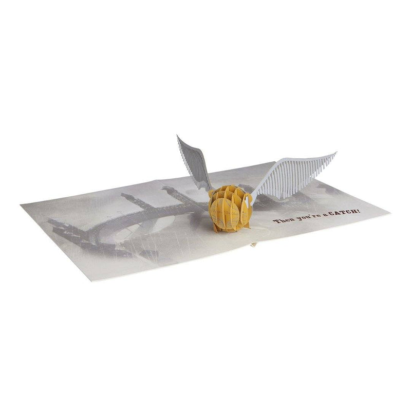 Tarjeta Pop-Up Golden Snitch - Epicland  (4562283036785)