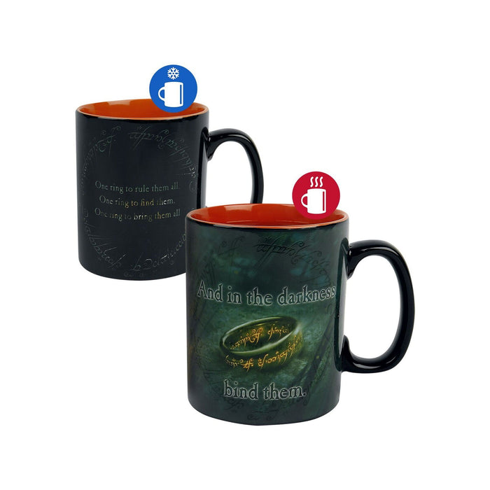 TAZA LORD OF THE RINGS HEAT CHANGE - Epicland