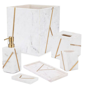 Kassatex Mont Blanc Tray in Ivory