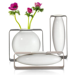 Philippi Float Vase Round Flat
