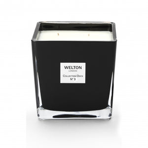 Welton London Onyx Collection Candle No. 3