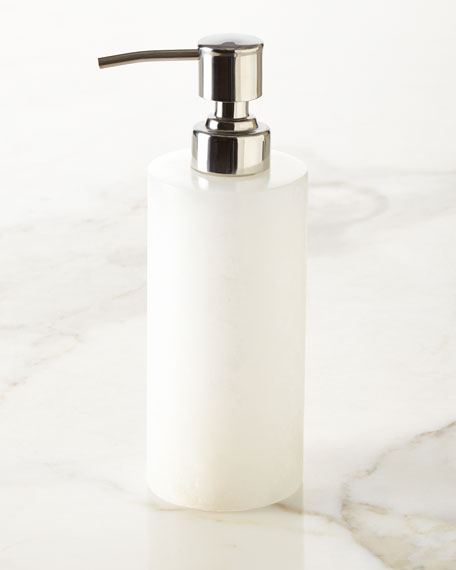 Kassatex Alabaster Soap Lotion Dispenser