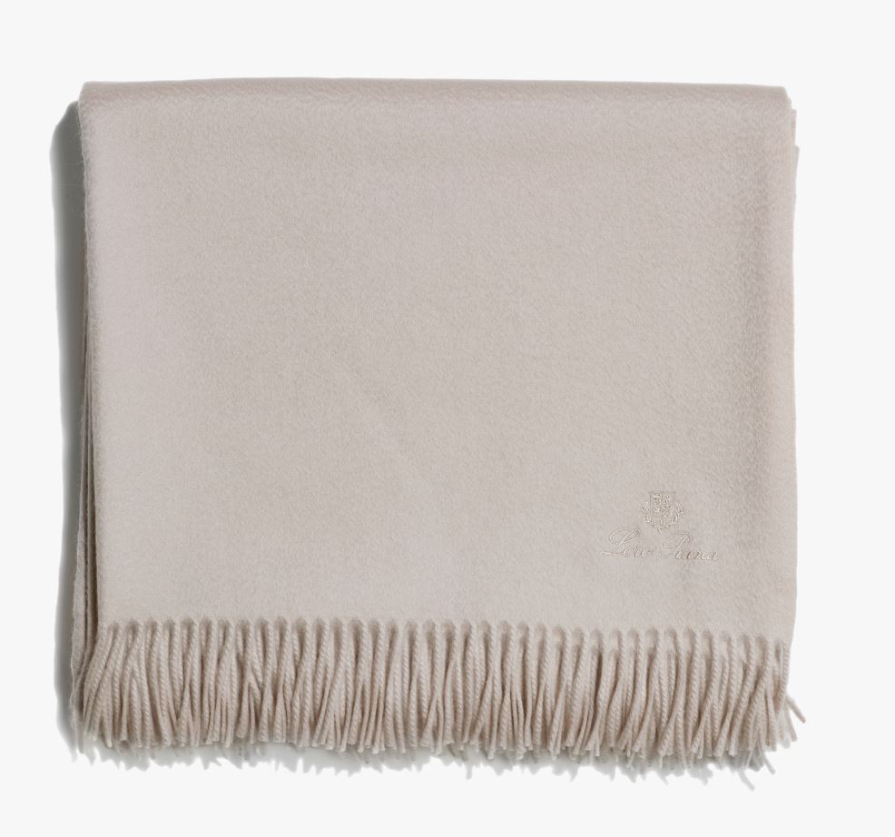 Loro Piana Unito Cashmere Throw Blanket