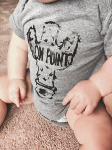 On Point | Baby Bodysuit | The Noble Fox Shop