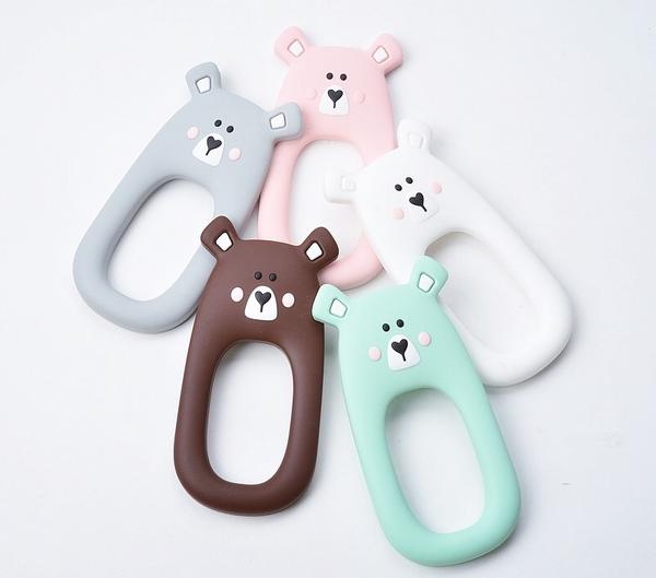 Silicone Bear Teether