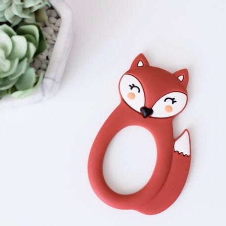Silicone Fox Teether