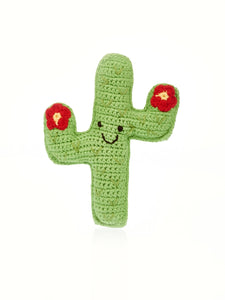 Cactus Buddy Red Flower