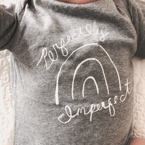 Perfectly Imperfect | Baby Bodysuit | The Noble Fox Shop