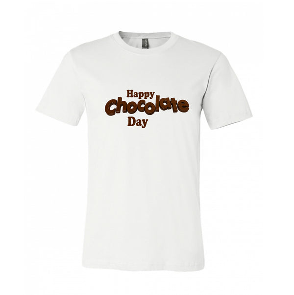 CHOCOLATE LOVERS T-SHIRTS FOR CHOCOLATE DAY. VALENTINES WEEK GIFT FOR THE LOVED ONES.