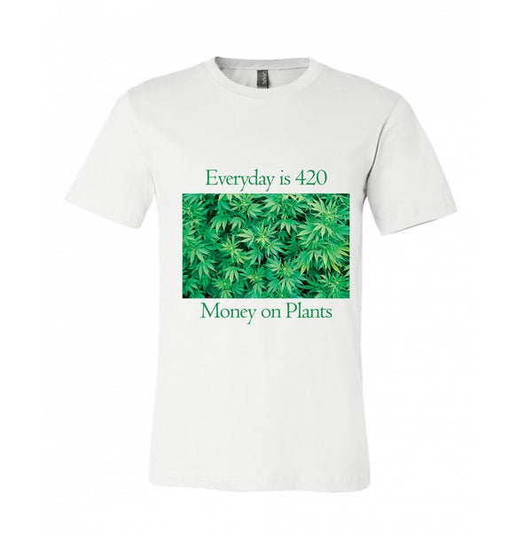 Go Green Everywhere Cool Design Green Herbs Shirts Swaggy Green