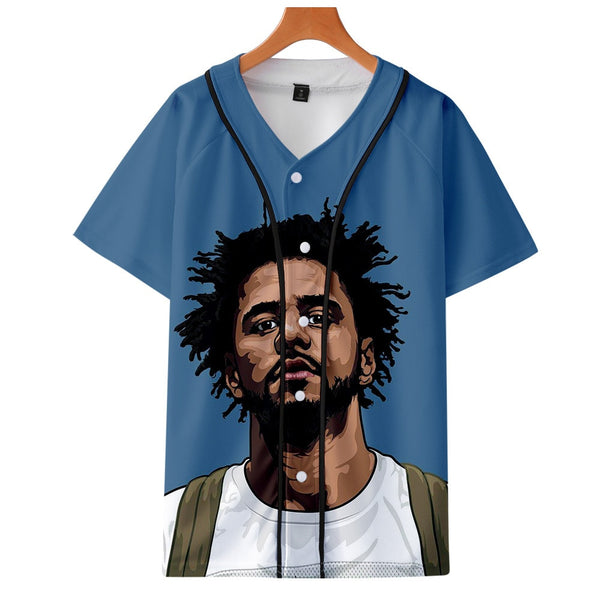 J Cole T Shirt Tops King Cole Dreamville Tshirt Men/Women Hip Hop KOD T-shirt Streetwear Tee Shirt Short Sleeve T Shirts Tops