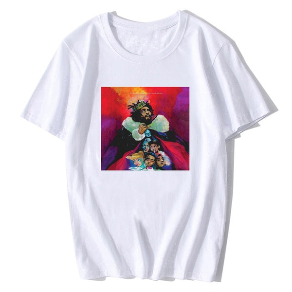 J Cole Drake Hip Hop Rap Music Migos Kendrick Trap Nas Dj Rap T Shirt 2020 Summer Men's Cotton T-shirt Fashion Tees Tops