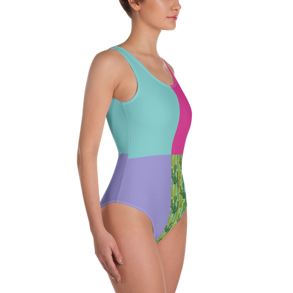 Colourful Cactus Swimsuit
