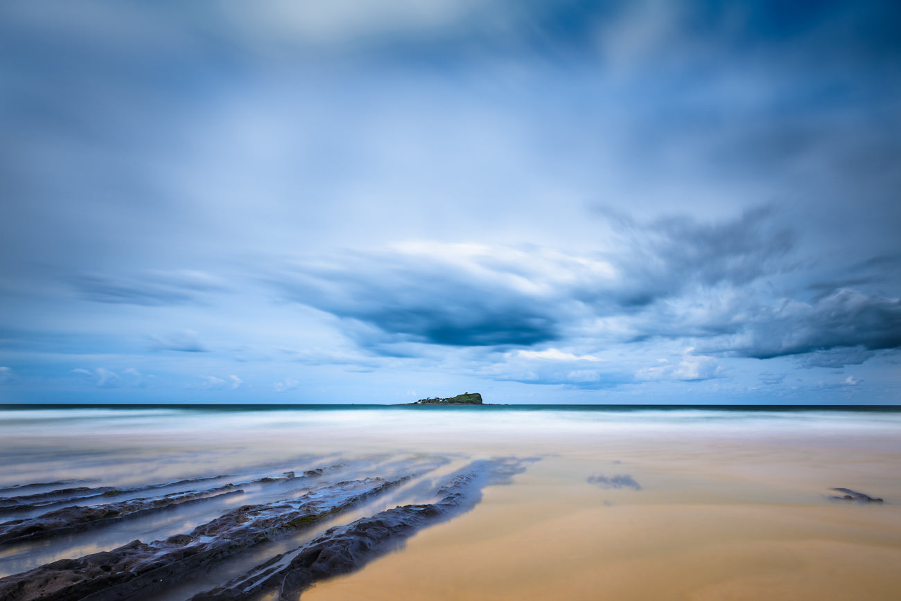 Blue Hour - Old Woman Island Mudjimba
