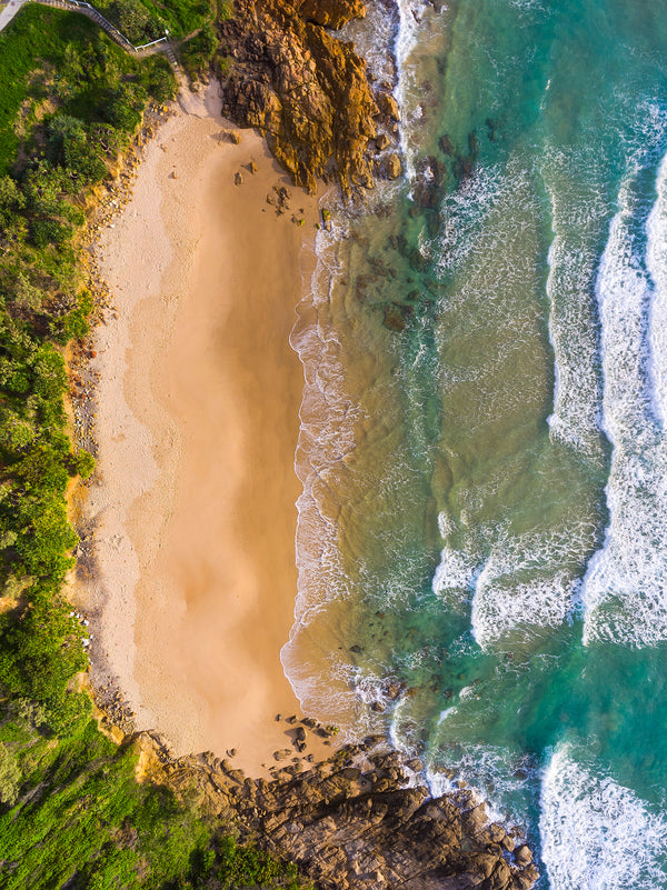 Sunshine Coast Portrait Drone Art Aerial Photo