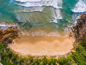 Sunshine Coast Landscape Drone Art Aerial Photo