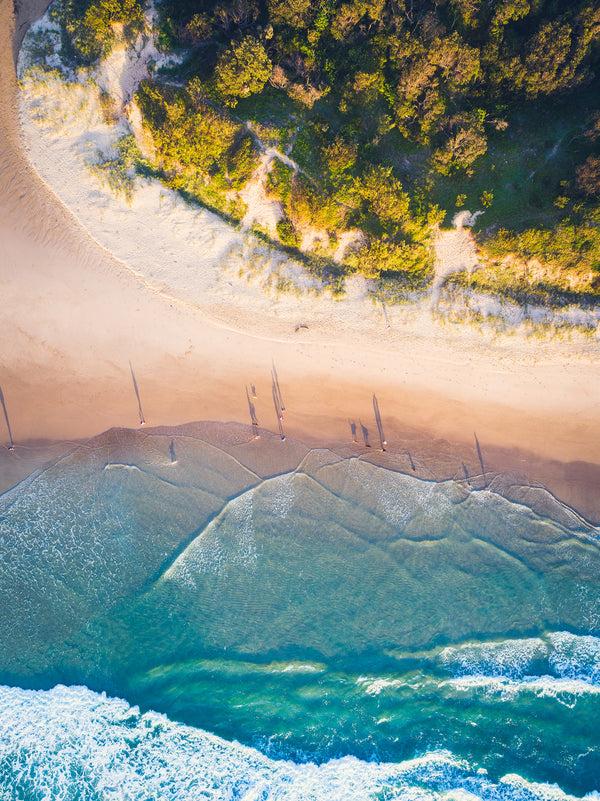 """Morning Walkers"" -Stumers Creek Coolum"