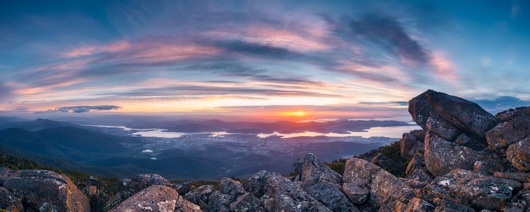 Mount Wellington Views - Tasmania