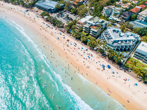 'We Love Noosa' - Noosa Main Beach