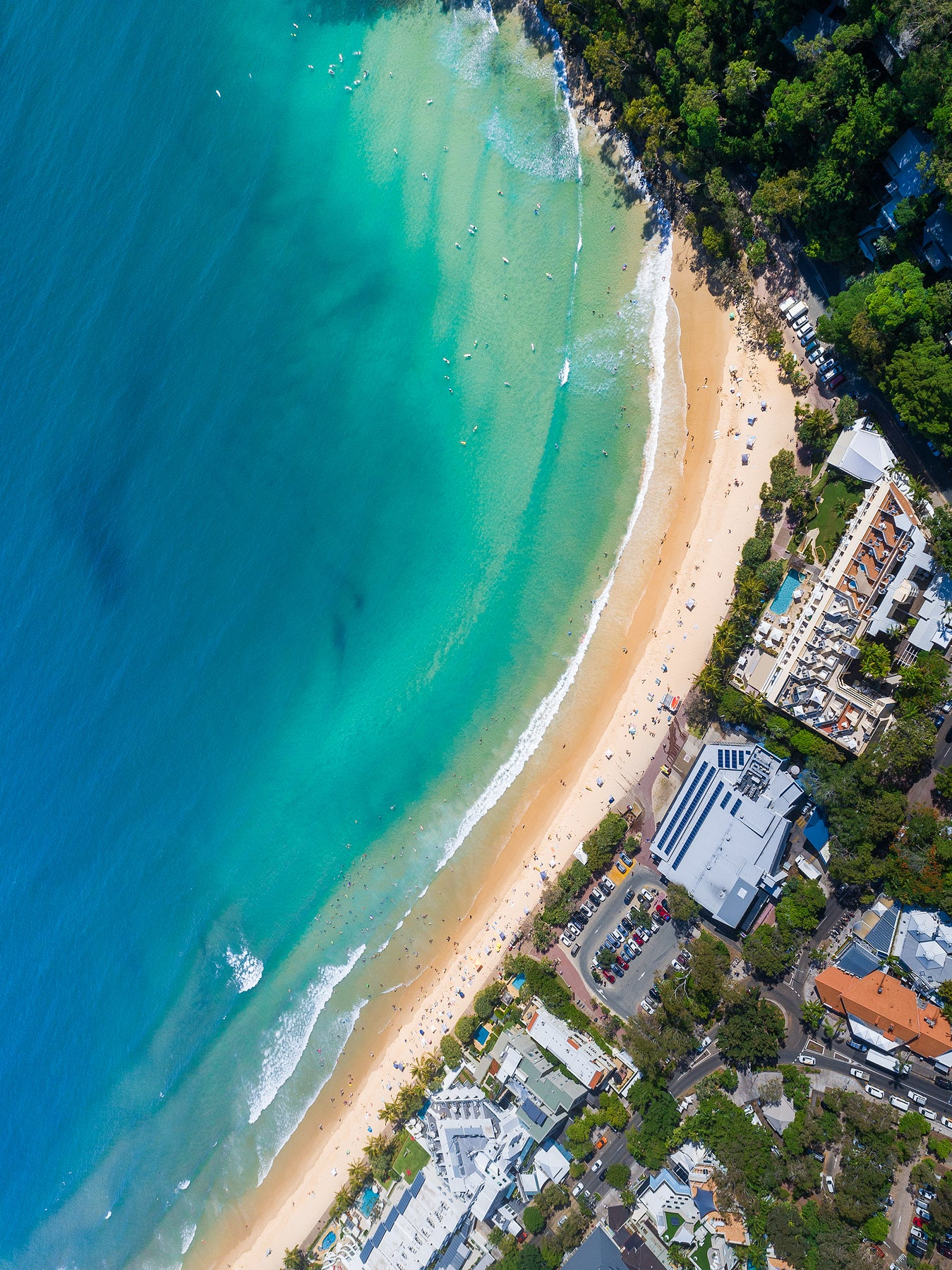 'Birds Eye View' - Noosa Main Beach