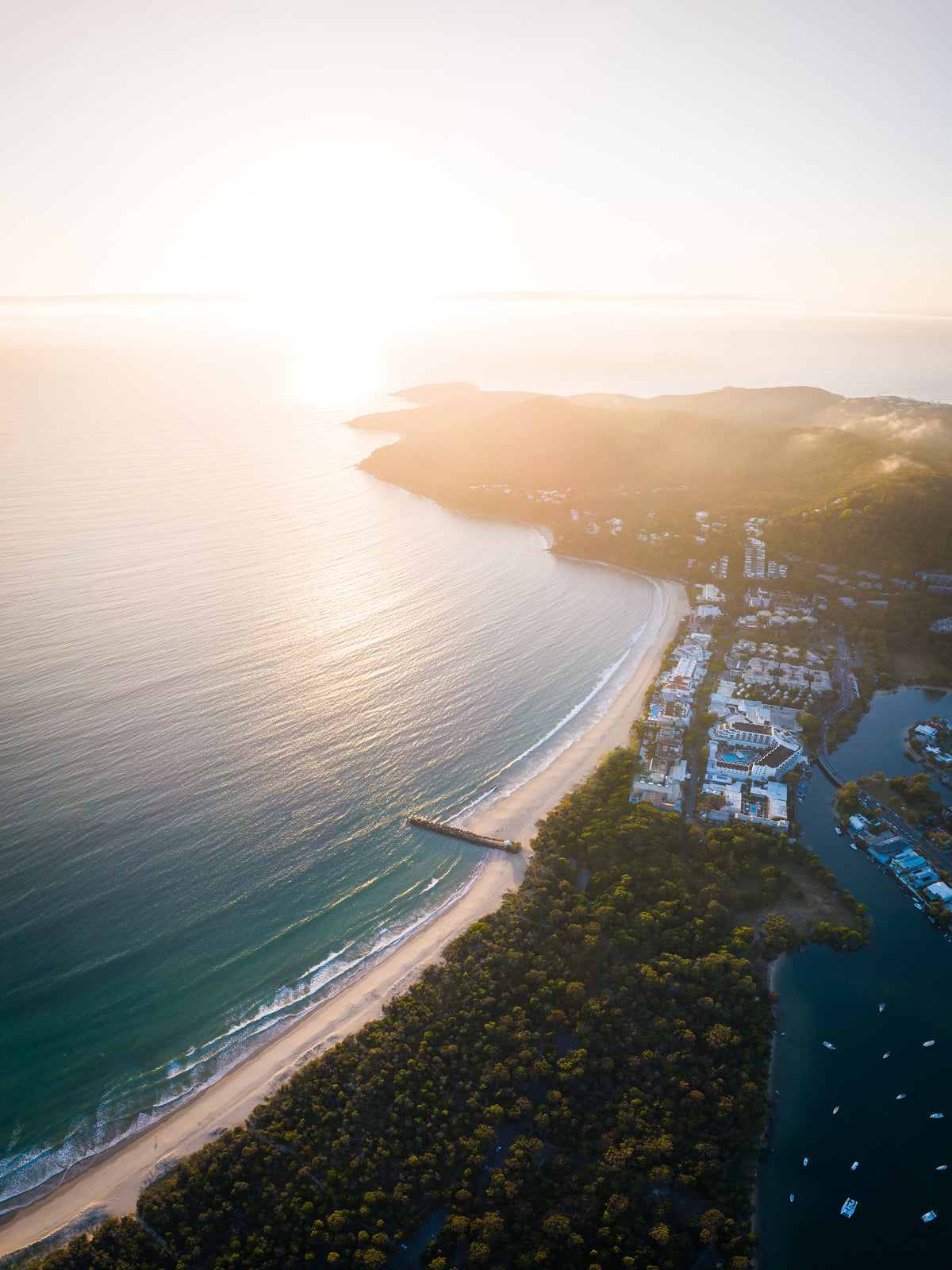 Noosa Main Beach Sunrise