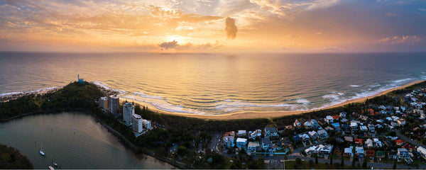 Sunshine Coast - Panorama - Print